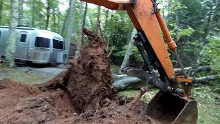 Download Pushing Oak trees away from a house Video