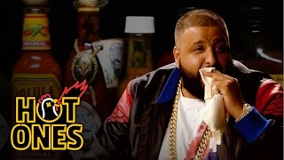 Download DJ Khaled Talks Fuccbois, Finga Licking, and Media Dinosaurs While Eating Spicy Wings | Hot Ones Video