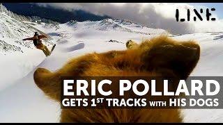 Download Eric Pollard & his Dogs Get Early Season Powder at Mt Hood! Video