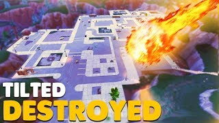 Download TILTED TOWERS DESTROYED by Meteor Strike In Fortnite Battle Royale! Video