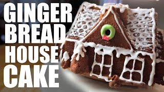 Download GINGERBREAD House CAKE Recipe Video
