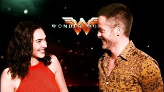 Download Gal Gadot & Chris Pine - cute moments ❤ impossible not to love! Video