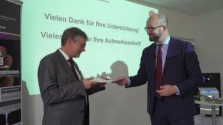 Download HAWK erhält 4,6 Mio Euro für Forschungsbau Video
