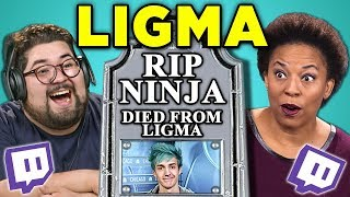 Download ADULTS REACT TO LIGMA (Ninja Death Hoax) Video
