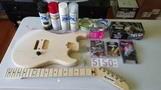 Download My Musikraft 5150 Replica Guitar Project! Video