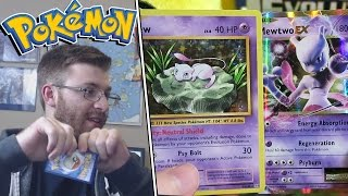 Download OMG! WHY DID YOU RIP THAT CARD?! + MEW & MEWTWO! Pokemon Evolutions Booster Box Opening x2 Video