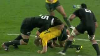 Download All Blacks smashing Australia - Rugby World Cup 2011 Semi-final Video