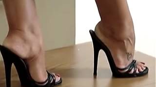 Download Sexy feet in high heels Video
