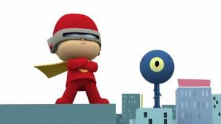 Download ¡Pocoyó se convierte en Flash! Video