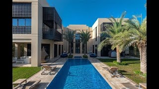 Download Modern Arabic Mansion on the Crystal Lagoon in Dubai | Sotheby's International Realty Video