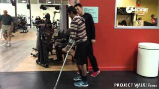 Download T4 Spinal Cord Injury - Andres at Project Walk San Jose Video
