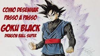 Download Como desenhar Goku Black - Dragon Ball Super - Passo a Passo Video