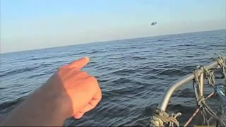 Download Ovni perseguido en el mar por cazas del ejercito Video