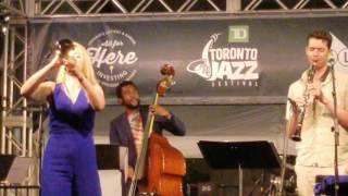 Download Bria Skonberg @TD Jazz Fest Toronto 2017 Video