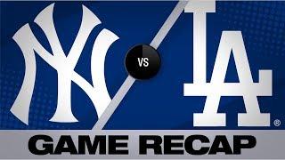 Download Judge, German lift Yankees to 5-1 win   Yankees-Dodgers Game Highlights 8/25/19 Video