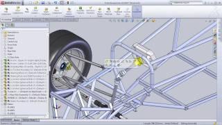 Download SolidWorks Formula SAE Design Project Video