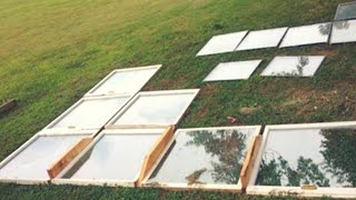 Download Guy Lays A Bunch Of Old Windows Out On His Lawn Only To Blow Everyone Away A Few Days Later Video