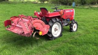 Download Shibaura SL1743 4WD Compact Tractor with Rotavator Video