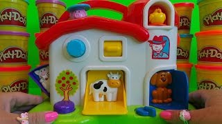 Download OLD MACDONALD HAD A FARM FUN SONG AND PEEK-A-BOO POPPIN' PALS Video