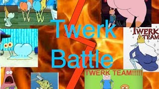 Download Spongebob VS Adventure Time Twerk Battle Video