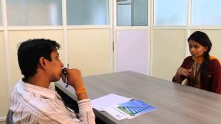 Download Tech Mahindra's mock interview sessions for the final year students Video
