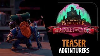Download The Dungeon of Naheulbeuk: The Amulet of Chaos - Teaser - The Adventurers Video
