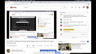 Download AFC & NFC Conference Championship Rigged | Sign up for Patreon for Super Bowl 53 winner Video