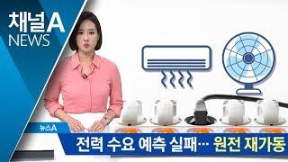 Download 찜통더위 속 전력 수요 예측 실패…원전 재가동 Video