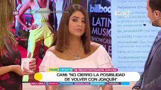 Download ″No me cierro a volver con él″: Cami Recabarren cuenta cómo fue su reencuentro con Joaquín Méndez Video