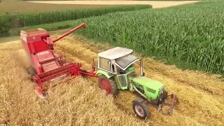 Download Landwirtschaft 2017 - Getreide-Ernte Video