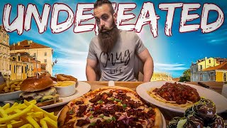 Download THE UNDEFEATED GRILL & PIZZERIA CHALLENGE TO WIN A TRIP TO VENICE | C.O.B. Ep.75 Video