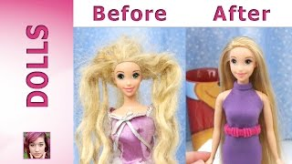 Download Rapunzel's Makeover - Hair Repair and New Dress Video