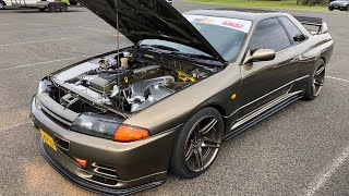 Download He put a FORD BARRA in a SKYLINE GTR?! Video
