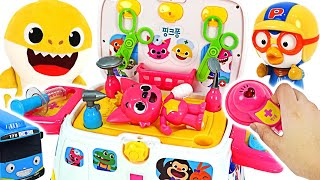 Download Pinkfong,Pororo is hurt! Go! Pinkfong ambulance hospital play #PinkyPopTOY Video
