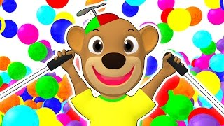 Download SUPER CIRCUS 3D Kid's Olympics   Olympic Playground, Color Balls, Ball Pit Show by Busy Beavers Video
