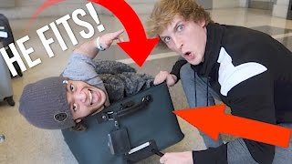 Download SMUGGLING A DWARF TO PARIS IN A SUITCASE! (and it worked) Video