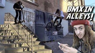 Download BRANDON BEGIN & REED STARK BMX ANTICS! Video