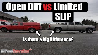 Download Open Differential vs Limited Slip Differential (Yukon DuraGrip POSI Traction) | AnthonyJ350 Video