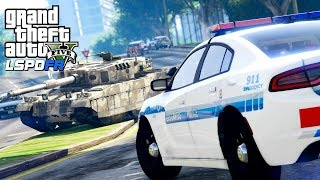 Download GTA 5 Police Mod   LSPDFR #132 - Joyriding In A Military Tank Video