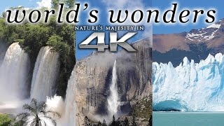 Download WORLD'S WONDERS in 4K | 1HR Nature Relaxation™ UHD Music Video / Screensaver Video