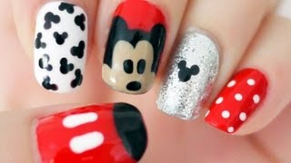 Download ♥ Disney Mickey Mouse Inspired Nails ♥ Video