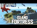 Download INVINCIBLE ISLAND FORTRESS! Amazing Castle Island Map (Ravenfield Early Access Beta Gameplay Video