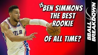 Download Is BEN SIMMONS The Best Rookie OF ALL TIME? Video