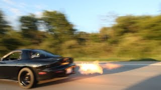 Download What its like owning a 3 Rotor 20B RX-7 Video