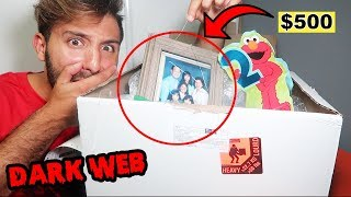 Download I BOUGHT A MYSTERY BOX FROM THE DARK WEB & WHAT I FOUND INSIDE MIGHT SCARE YOU (DEEP WEB CHALLENGE) Video