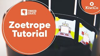 Download How to Build a Zoetrope - Tinker Crate Project Instructions Video