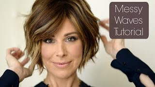Download Messy Chic Holiday Hair Tutorial Video