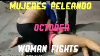Download PELEA DE MUJERES - MOSTRANDO MÁS DE LA CUENTA / WOMAN FIGHTS - OCTOBER /ANTHONY JSV Video