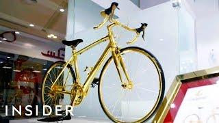 Download Bike Made With 24-Karat Gold Video