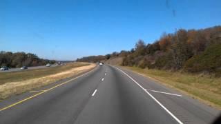 Download North Little Rock Westbound Interstate 40 Video